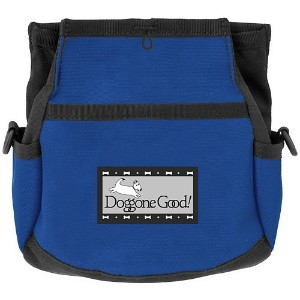 Rapid Rewards Deluxe Dog Training Bag with Belt by Doggone Good! (Blue) by Doggone Good