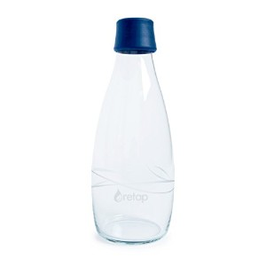 Retap Borosilicate Glass Water Bottle, 27-Ounce  水筒 750ml ダークブルー
