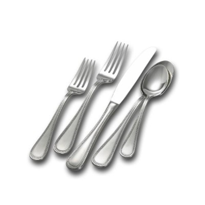 Towle Beaded Antique 5-piece Place Setting by Towle