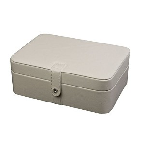 Mele Jewel Cases Lila Forty-Eight Section Jewelry Box (White) by Mele [並行輸入品]
