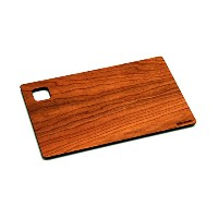 Epicurean WoodGrain Series, Cutting and Serving Board, 9.5 by 6, Cherry/Natural by Epicurean