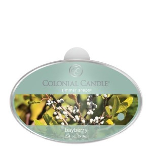 Colonial Candle Bayberry Simmer Snaps [並行輸入品]