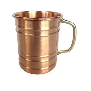 Rashi企業100% Copper Mug for Moscow Mule–Solid Pure Copper 16oz-single piece-perfectギフト