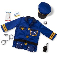 【Outlet/20%off】コスチューム ハロウィン 子供 3歳~6歳 警察官 ポリス 小物付き メリッサ&ダグ