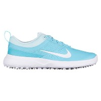ナイキ レディース ゴルフ シューズ・靴【Nike Akamai Golf Shoes】Vivid Sky/White/Glacier Blue