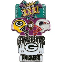 NFL第31回スーパーボウル記念ピン(1997) Super Bowl XXXI Commemorative Pin