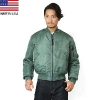 GREENBRIER IND.INC グリーンブライヤー社 MADE IN USA MA-1 フライトジャケット SAGE