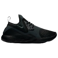 ナイキ レディース シューズ・靴 スニーカー【Nike Lunarcharge Essential】Black/Dark Grey/Black/Volt
