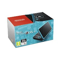 Nintendo Handheld Console - New Nintendo 2DS XL - Black and Turquoise (Nintendo 3DS) - UK.