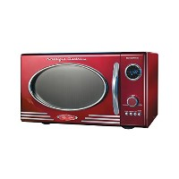 レトロシリーズ0.9 CF電子レンジ、レッド Nostalgia Electrics RMO400RED Retro Series .9 CF Microwave Oven, Red 並行輸入