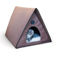 K&H Manufacturing Outdoor Multi- Kitty A-Frame 35-Inch by 20.5-Inch by 20-Inch by K&H Manufacturing