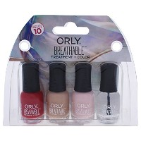 Orly Breathable Nail Lacquer - Mini 4pc Kit #3 - 0.18oz / 5.3ml Each - 28909