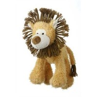 Multipet's Mane Event 11-Inch Lion Plush Dog Toy by Multi Pet