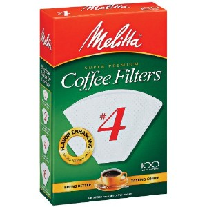 Melitta U S A Inc624102No. 4 Cone Coffee Filter-WHITE #4 COFFEE FILTER (並行輸入品)