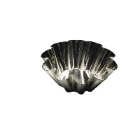 "Browne (80193750) 3-1/2"" Fluted Brioche Mould by Browne Foodservice [並行輸入品]"