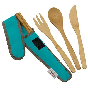 To-Go Ware RePEaT Reusable Bamboo Utensil Set, Agave by To-Go Ware