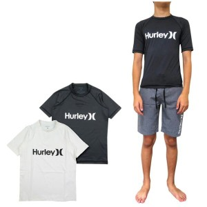 HURLEY ハーレー ラッシュガード 半袖 キッズ ボーイズ BOYS ONE&ONLY SURF SHIRT ジュニア