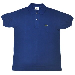 FRANCE LACOSTE(直輸入フランスラコステ)#L1212 S/S PIQUE POLOSHIRTS(半袖 鹿の子 ポロシャツ) INK WELL(CC3)