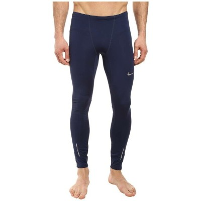 ナイキ メンズ インナー・下着 タイツ・スパッツ【Dri-FIT' Thermal Tights】Midnight Navy/Obsidian/Reflective Silver