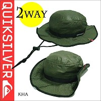QUIKSILVER 携帯用帽子 QHT141311 JOHN PACKABLE KHA