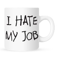 I Hate My Job – Coffee Mug – 11オンス