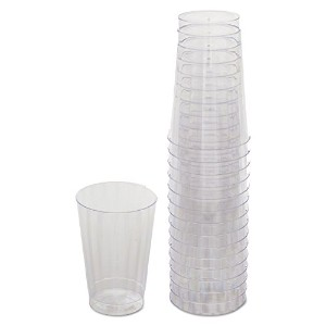 - - - - - - -–Classicware Tumblers、12オンス、プラスチック、クリア、16/バッグ