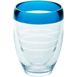 Tervis 9オンスブルーInfusion StemlessワインガラスTervis Oneサイズ