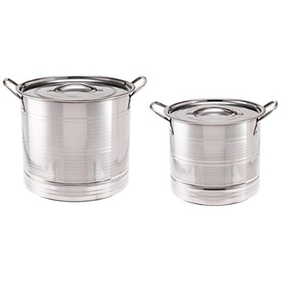 ExcelSteel 571 – 6 Piece Stockpot Steamerプレート、ステンレススチール