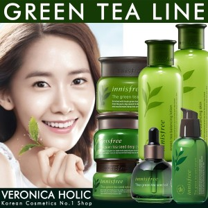 [innisfree] Green Tea Balancing Skin/Lotion/Cream/Green Seed Cream/Serum/Eye Cream/Oil