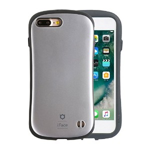 iFace First Class Metallic iPhone 8Plus / 7Plus ケース 耐衝撃 / シルバー