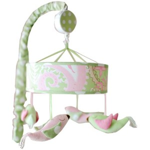 My Baby Sam Pixie Baby Mobile, Pink by My Baby Sam [並行輸入品]