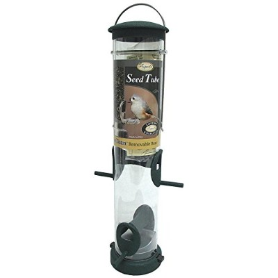 Aspects Inc 424 Hunter Green Quick-Clean Seed Tube Feeder Medium