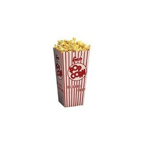 24 Retro Popcorn Boxes - Movie Theater Style by Retro