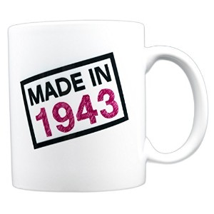 evermug Made in 1943 – 74th誕生日ギフトMug 11 oz.