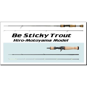 Be Sticky Trout BST-EXS43UL/C3 スミス/SMITH