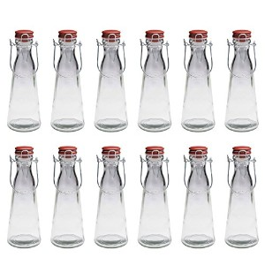 Kilnerジャー/ Bottle – Case of 12 1 Liter クリア 0025.454-CASE