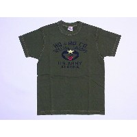 Buzz Rickson's[バズリクソンズ] Tシャツ ヘビーウエイト SPECIAL TROOPS ALASKA BR75808 (OLIVE)