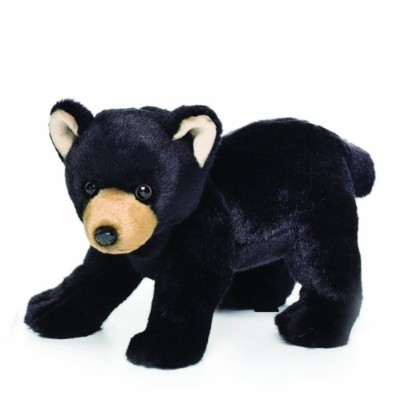 Nat and Jules Black Bear Plush Toy, Large by Nat and Jules