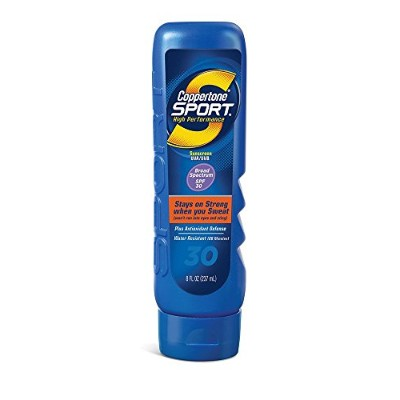 Coppertone Sport SPF #30 Lotion Sweatproof 240 ml (並行輸入品)