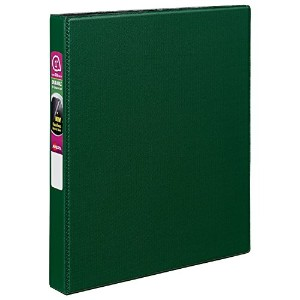 """Durable EZ-Turn Ring Reference Binder for 11 x 8-1/2, 1"""" Capacity, Green (並行輸入品)"""