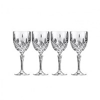 Marquis by Waterford Markham Goblet Glass Set of 4