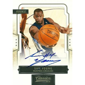 サム・ヤング NBAカード Sam Young 09/10 Classics Rookie Autographs 129/249