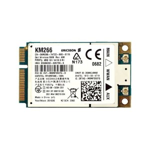 Dell Wireless 5530 HSPA Mobile Broadband Mini-Card Ericsson F3507G 3G GPS WWAN ワイヤレスWANモジュールカード