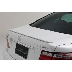 WALD TOYOTA LS460 / 600h USF40 EXECUTIVE LINE version 2 TRUNK SPOILER FRP製未塗装