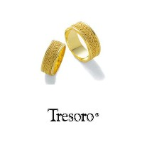 【送料込み】結婚指輪**MARRIGE RING☆Tresoro**Gold crochet**01K01/01H01*k18 【RCP】【楽ギフ_包装】