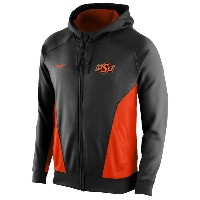 ナイキ メンズ パーカー&スウェット アウター Men's Nike College Hero Performance Hoodie Black/Orange