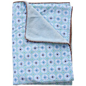 Caden Lane Modern Vintage Collection Octagon Piped Blanket, Boy by Caden Lane
