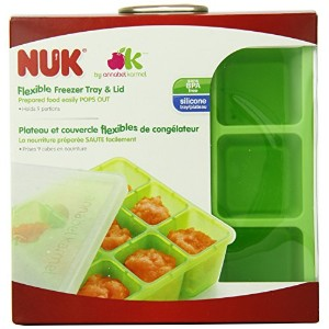 NUK Homemade Baby Food Flexible Freezer Tray and Lid Set by NUK [並行輸入品]