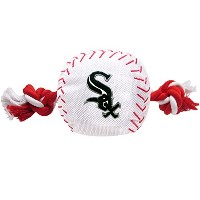 Chicago White Sox Nylon Baseball Rope Pet Toy