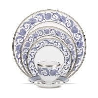 Noritake Sonnet Inブルー5-piece Place Setting